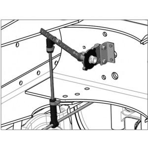Датчик нагрузки на ось для рессорной подвески